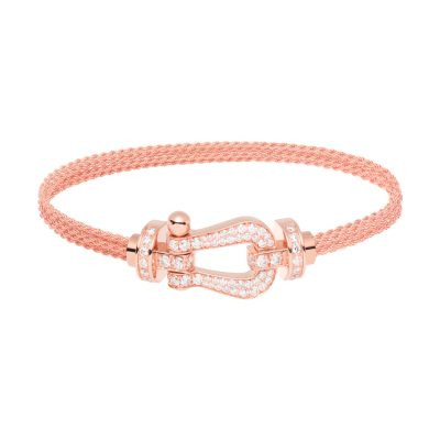 Bracelet FORCE 10 or rose