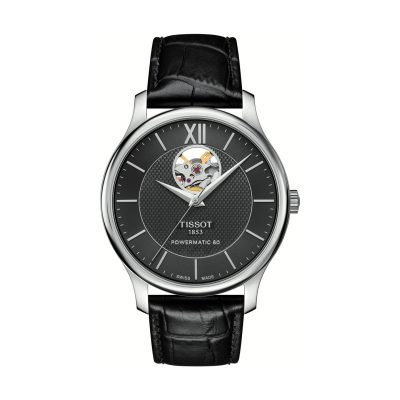 Montre Homme TISSOT TRADITION POWERMATIC 80 OPEN HEART