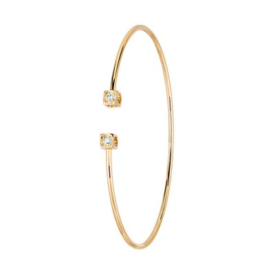 Bracelet flex LE CUBE DIAMANT dinh van petit modèle