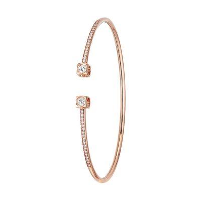 Bracelet flex LE CUBE DIAMANT dinh van grand modèle