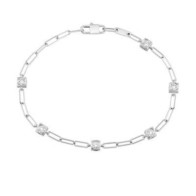 Bracelet chaîne LE CUBE DIAMANT dinh van