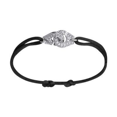 Bracelet MENOTTES dinh van R12 et diamants