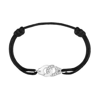 Bracelet MENOTTES dinh van R10 et diamants