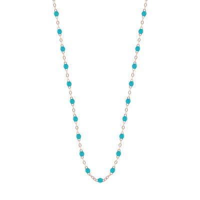 Collier gigiCLOZEAU perles de résine turquoise vert