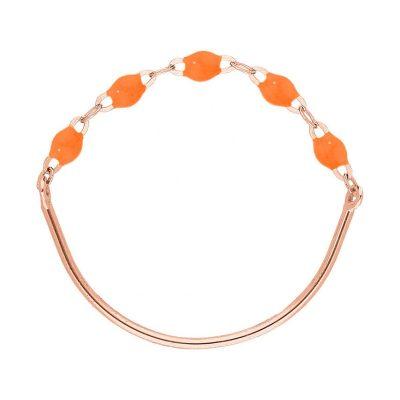 Bague gigiCLOZEAU perles de résine orange