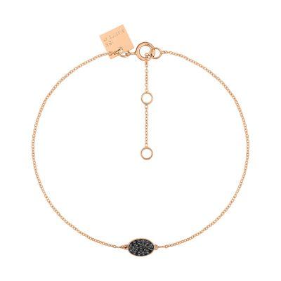 Sequin black diamond