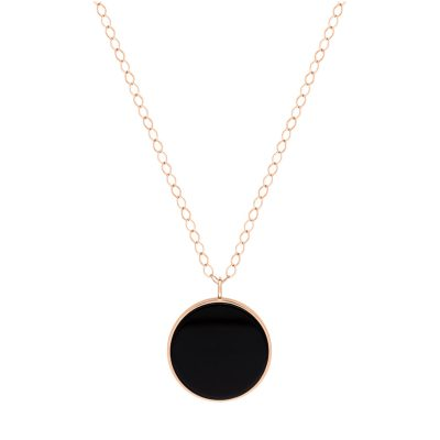 jumbo ever onyx disc on chain