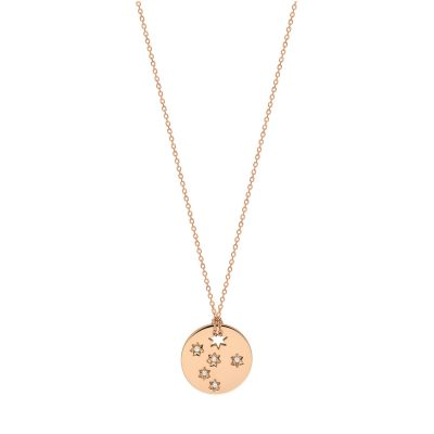 mini diamond Milky way disc on chain