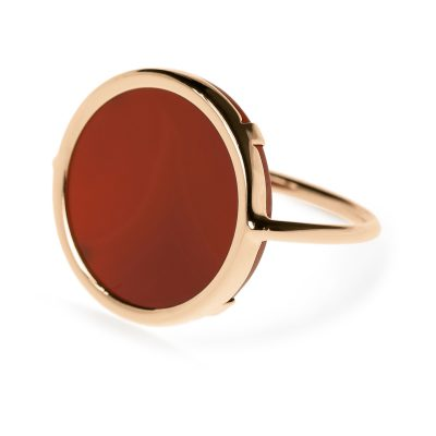 Cordoba Carnelian Disc Ring