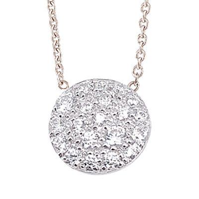 Collier Constellation diamants sur or blanc