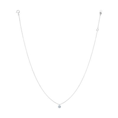 COLLIER 360° DIAMANT SOLITAIRE